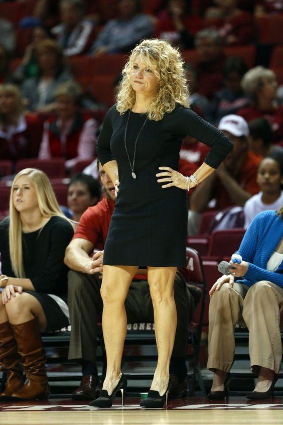 Women college coaches upskirt