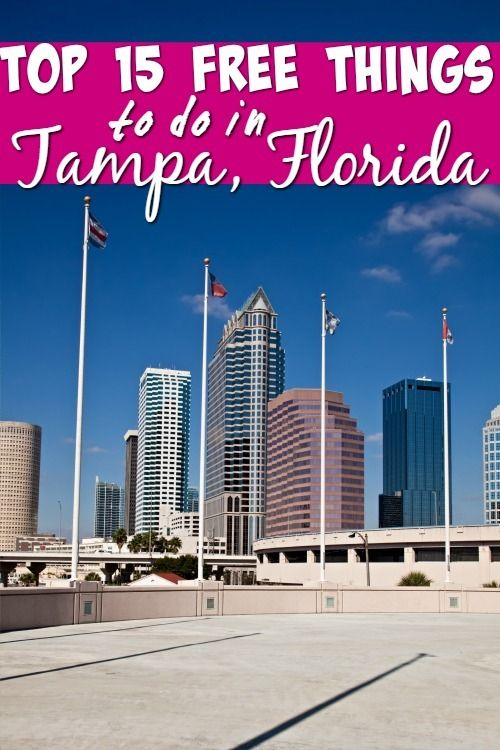 Looking for things to do in Tampa, Florida that won't break your budget? Check out these top 15 free things to do. Everything from train rides to free museum admissions!