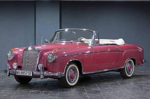 1957 Mercedes-Benz 220S Cabriolet. Chassis no. 180 030-750 3673. . @Deidra Brocké Wallace