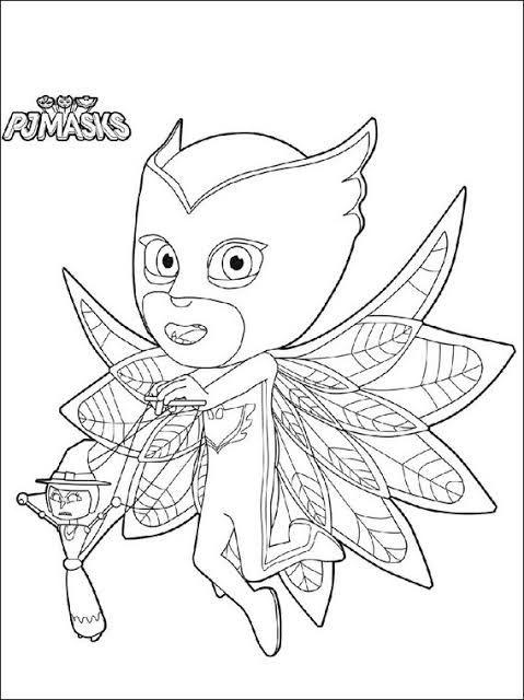 Desenhos Do Pj Masks Para Colorir E Imprimir With Images Pj