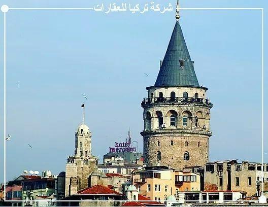 صباح الخير من برج غلطة التاريخي أحد أهم المعالم السياحية بمدينة اسطنبول الاستثمار العقاري في تركيا الاستثمار العقاري في اسطنبول شقق للبيع في اسطنبول شقق