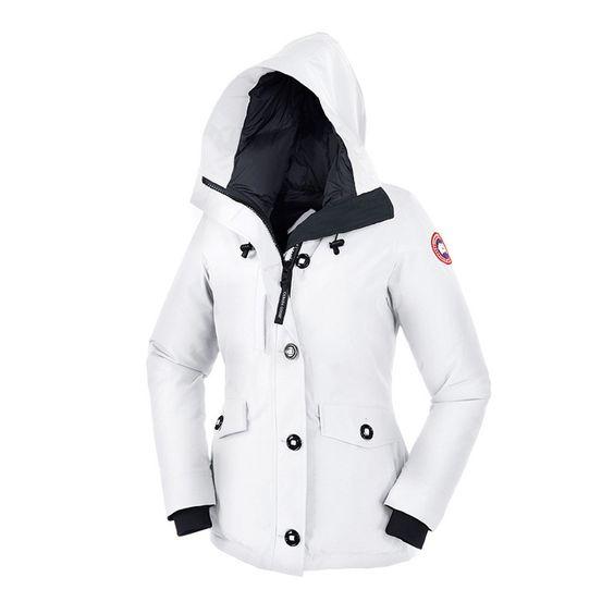 Canada Goose victoria parka replica fake - Canada Goose Rideau Parka White   anada Goose Rideau Parka White ...