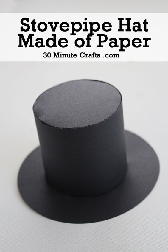 Pics Photos - Lincoln Stovepipe Hat Craft