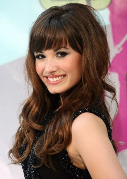 2012 hairstyles with bangs