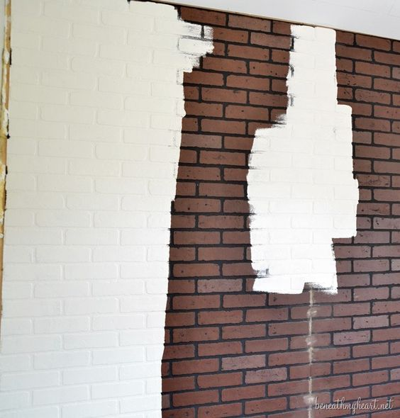 faux brick bricks and faux brick walls on pinterest