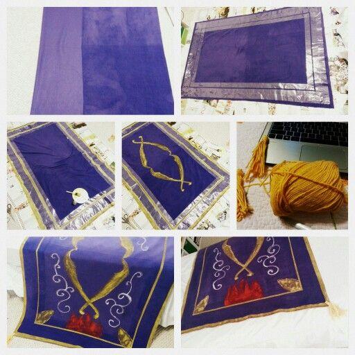 Aladdin's Magic Carpet | Easy DIY | Pinterest | Carpets ...