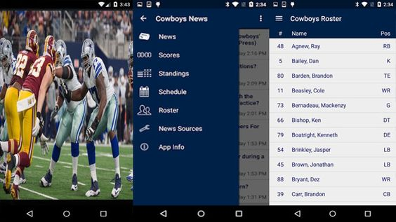 Live Stream Online Android App Reviews Dallas Cowboys Football Game. The NFL Cowboys Live Stream App Android is a great sports companion that at no time fails. Make your Android mobile device a special part of your game-day involvement for Cowboys games. This is positively How to Watch Dallas Cowboys Live on Android Mobile. Now, you can visit in touch with the Cowboys anytime, anyplace, on your Android mobile Samsung, Nexus, LG, Sony, HTC, Motorola and more.