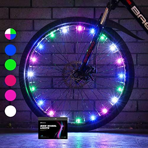 Sumree Bike Wheel Lights Led Bike Spoke Light Super Bright Cycling