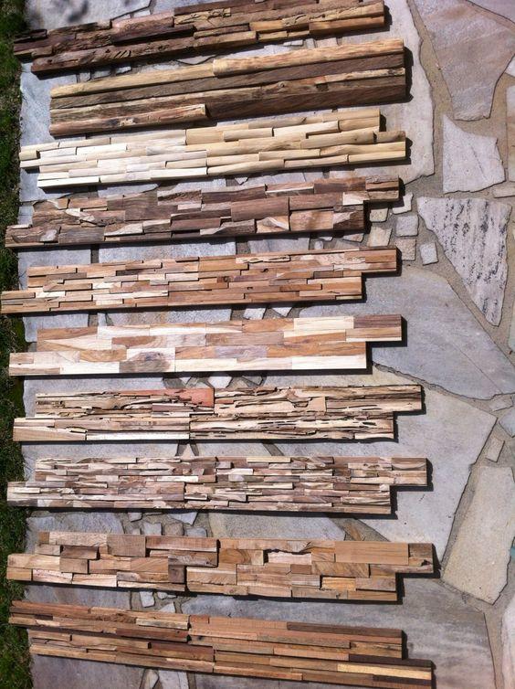 Wandverkleidung Holz diy Pinterest Wandverkleidung holz - gemutliche holzverkleidung innen