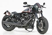 Customized Harley-Davidson Dynas by Thunderbike Customs