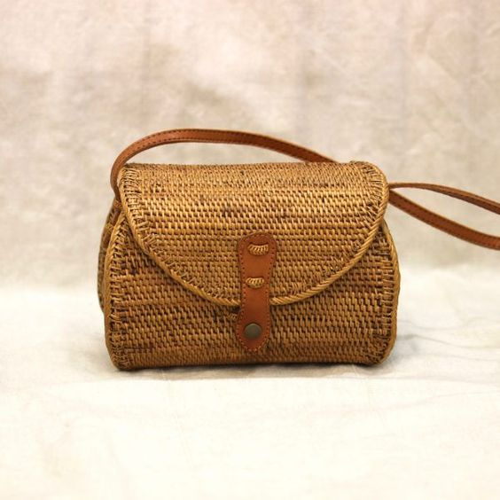 STRAW BAG - KATTY - Pepyth