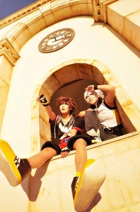 Gme cosplay-Kingdom Hearts Cosplay