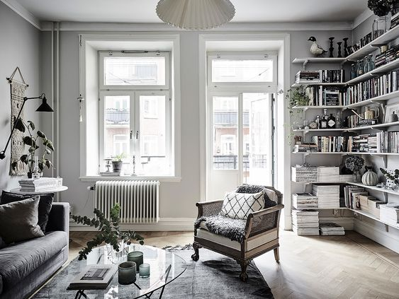 Breathtaking apartment in Gothenburg with romantic details - Daily Dream Decor