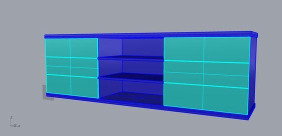 6 Draw Lowline TV Cabinet | I Build & Create Stuff