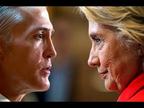 Trey Gowdy Finds Out FBI & DOJ Gave Immunity To People That Deleted Hillary Clinton's Emails - YouTube