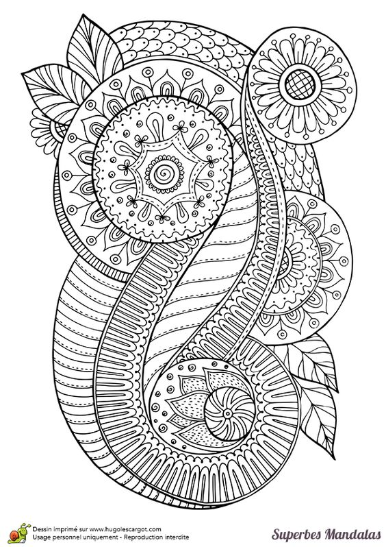 Doodle Abstract Coloring Pages Colouring Adult Detailed
