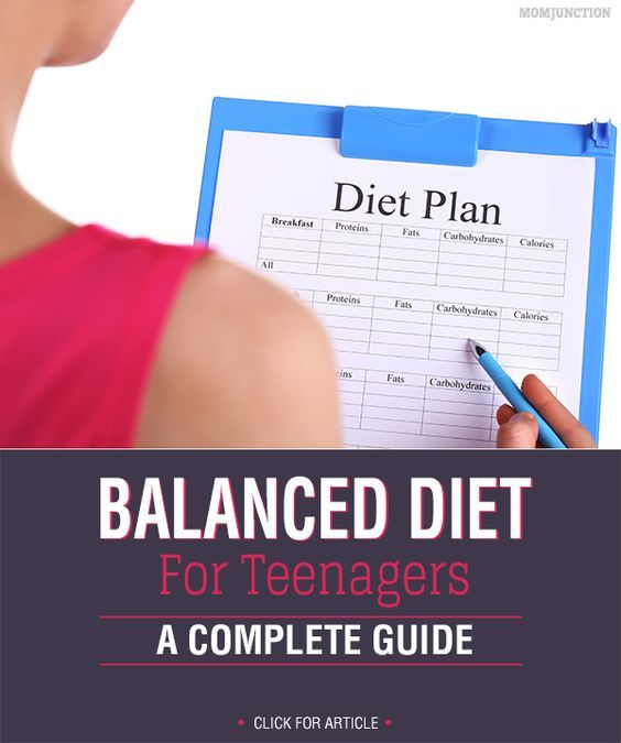 5 Healthy Diet Tips And A Diet Plan For Teenage Boys