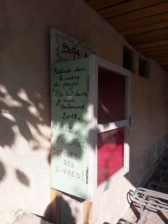 Boîte à livres Saint-Hubert