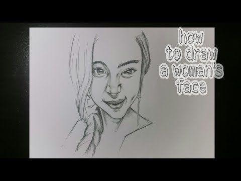 Cara Menggambar Wajah Cewek Perempuan Yang Cantik Belajar Menggambar How To Draw A Face Woman Youtube Cara Menggambar Menggambar Wajah Gambar