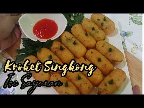 Resep Kroket Singkong Isi Sayuran Camilan Dengan Rasa Enak Dan Gurih Kroketsingkong Youtube Kroket Sayuran Resep