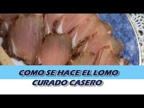 Como Hacer Lomo De Cerdo Curado A La Pimienta En Casa Youtube Comidas Celiacos Aperitivos Sanos Recetas De Comida