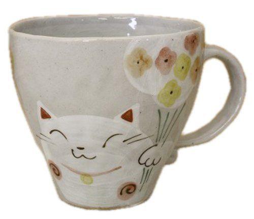 Cat 3.8inch Mug Grey Ceramic *** Awesome cat product. Click the image : Cat mug