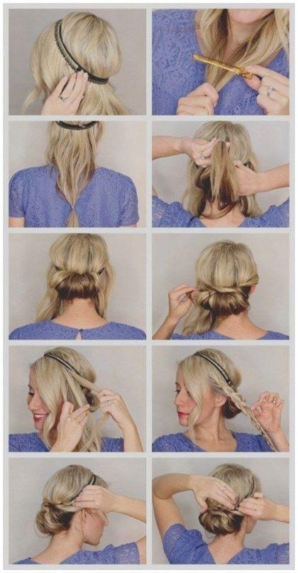 Schon Von Frisuren Mit Haartuch Um Selber Machen Haarband Anleitung Frisuren Frisurenkurze Haarband Frisur Haarband Frisur Anleitung Frisur Hochgesteckt