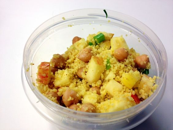 curry apple and chickpea couscous. | delectable goods | Pinterest ...