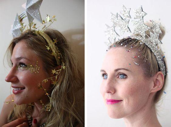fantasia de Carnaval - estrelas