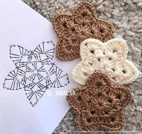 aplicações de crochê