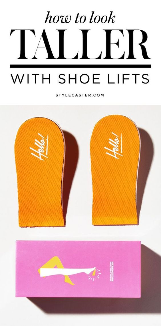 Petite gals! Here's a product you didn't know you needed! By now you've learned all of the styling tricks to look taller, but here's a way to add ACTUAL height. We tested out the best shoe lifts on the market to get longer looking legs and they're seriously legit. | StyleCaster.com