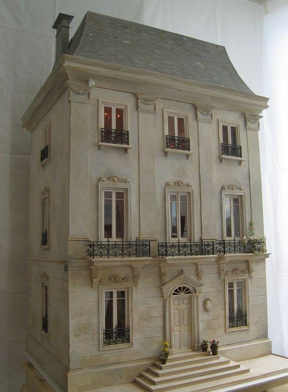 French Chateau Dollhouse Une Petite Folie Blog http://pinterest.com/search/?q=une%20petite%20folie#