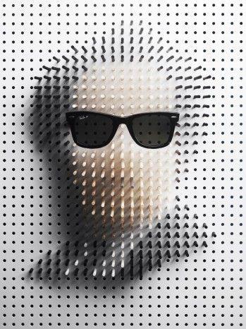 Philip Karlberg: Pin Art - Retratos da celebridade para Plaza - Moda | Popbee