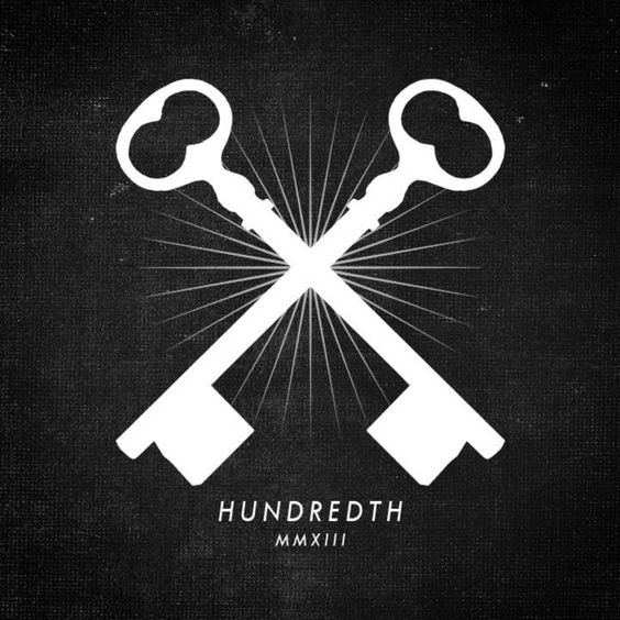 HUNDREDTH | JUST#LOGO | Pinterest
