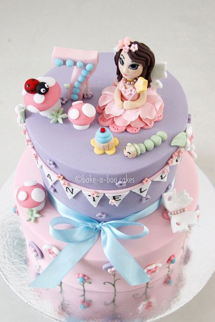 Pink Fairy Cake