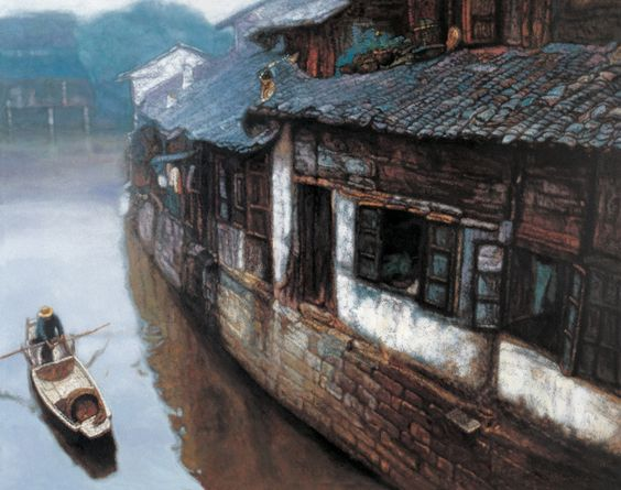 Chen Yifei painting