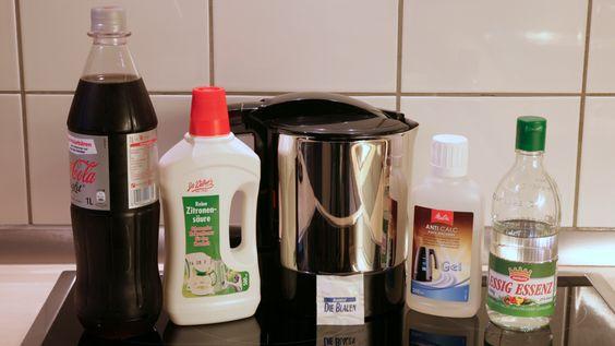 Wasserkocher entkalken