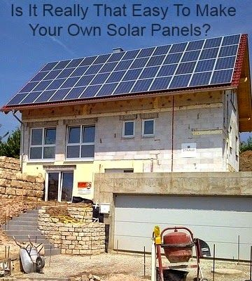 Is it really that easy to make your own solar panel for How to make a simple solar panel for kids