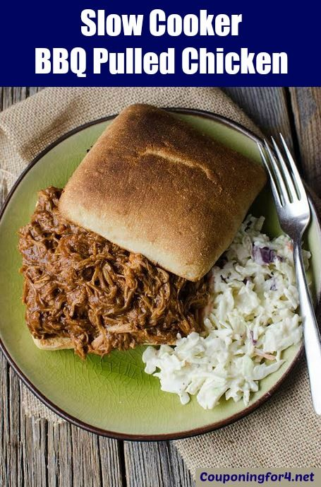 For a busy parent, making dinner can sometimes be a daunting task. This super easy Slow Cooker BBQ Pulled Chicken recipe is something you can throw into your crockpot, set it and forget it! Use your f ...
