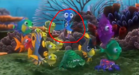 Finding nemo the movie and movies on pinterest for Finding nemo fish names