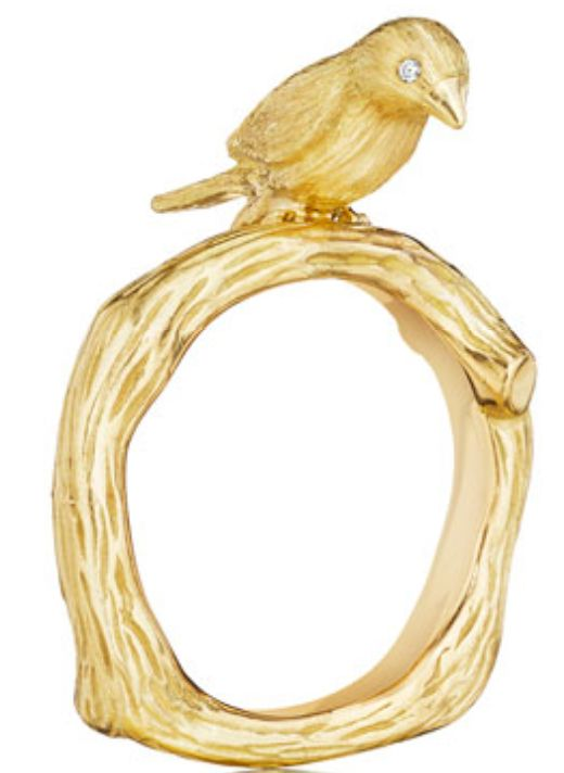 Cute Bird Ring