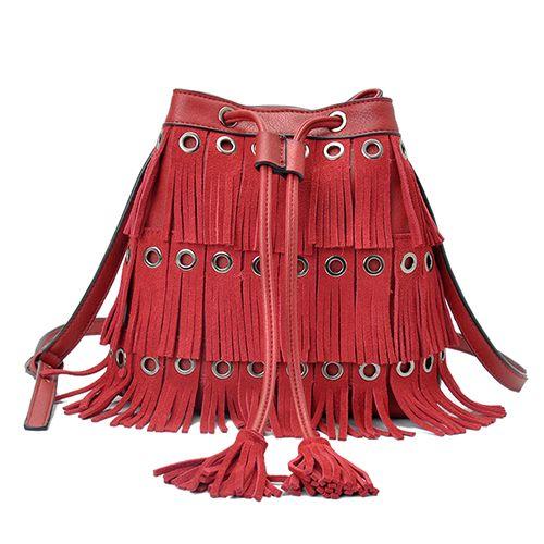 Bolsa Franjas Red
