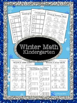 Winter Math - sequencing, missing number, counting on, & ten ...