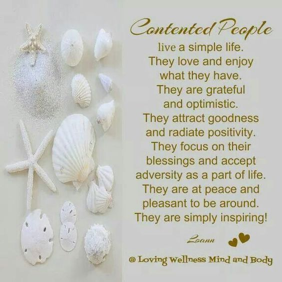 Contented People