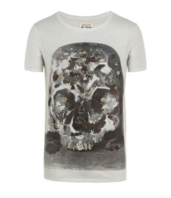 Dust Slouch Crew T-shirt, Men, Graphic T-Shirts, AllSaints Spitalfields