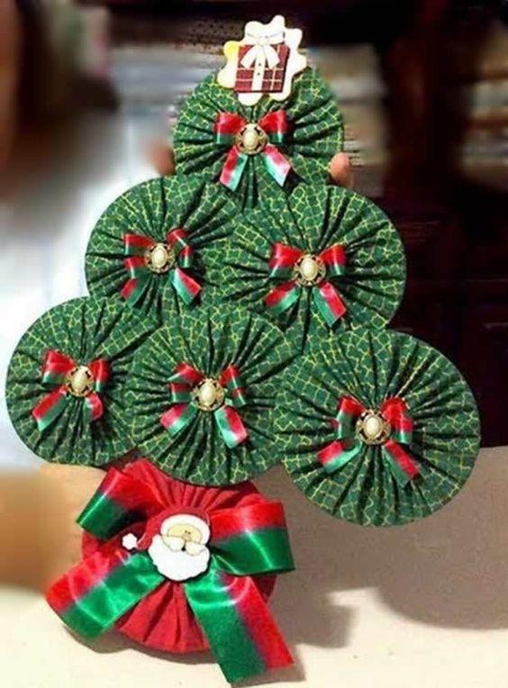 """Como Fazer """"Árvore de Natal com CD"""" Passo a Passo » Artesanato Brasil"""