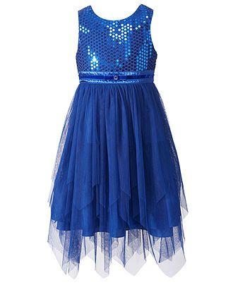 Bloome Kids Dress Girls Sequin Dress - Kids Dresses - Macy&39s ...