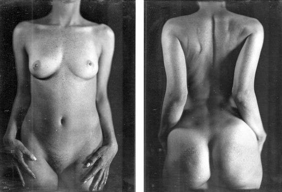 Chuck Close, Untitled Torso (KWII), 2000, daguerreotype