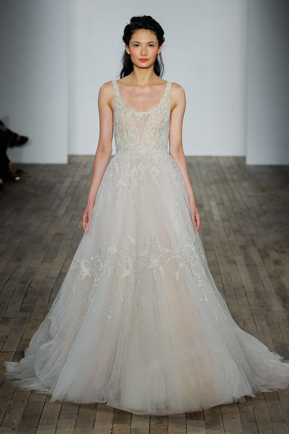 Browse 2018 wedding dress trends - beaded fishtail gown by Lazaro
