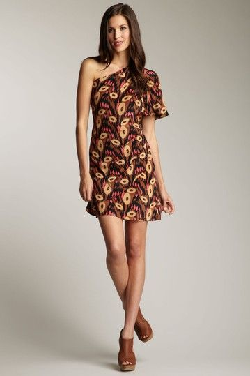 frock! by Tracy Reese...love this print.  Cool retro 70-esque influence...